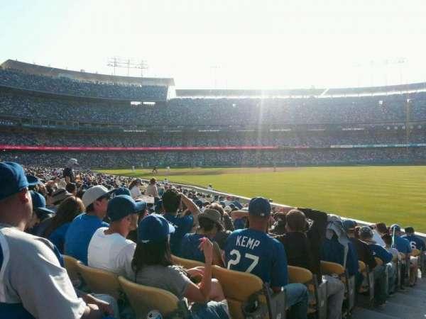 Dodger Stadium, Abschnitt: 48FD, Reihe: M, Platz: 1