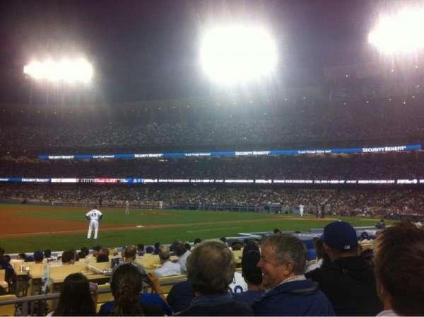 Dodger Stadium, Abschnitt: 31FD, Reihe: E, Platz: 1