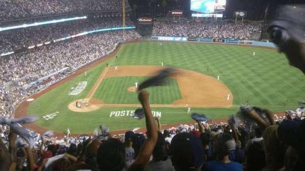 Dodger Stadium, Abschnitt: 10RS, Reihe: U, Platz: 20