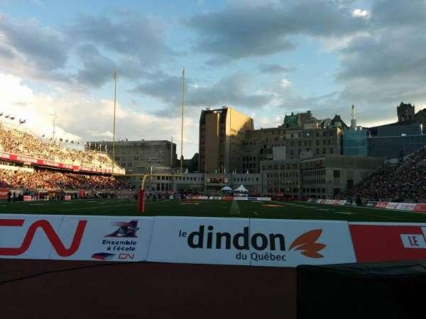 Percival Molson Memorial Stadium, Bereich: P3, Reihe: 1, Platz: 12