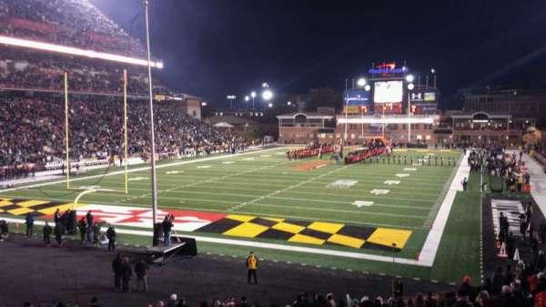 Maryland Stadium, Abschnitt: 17, Reihe: DD, Platz: 20