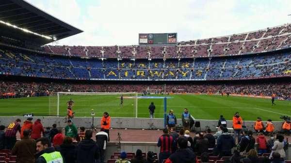 Camp Nou, Abschnitt: 120, Reihe: 02, Platz: 08