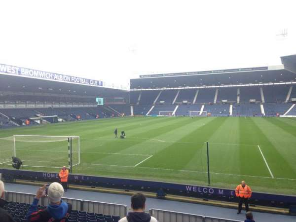 The Hawthorns, Abschnitt: Away end, Reihe: W