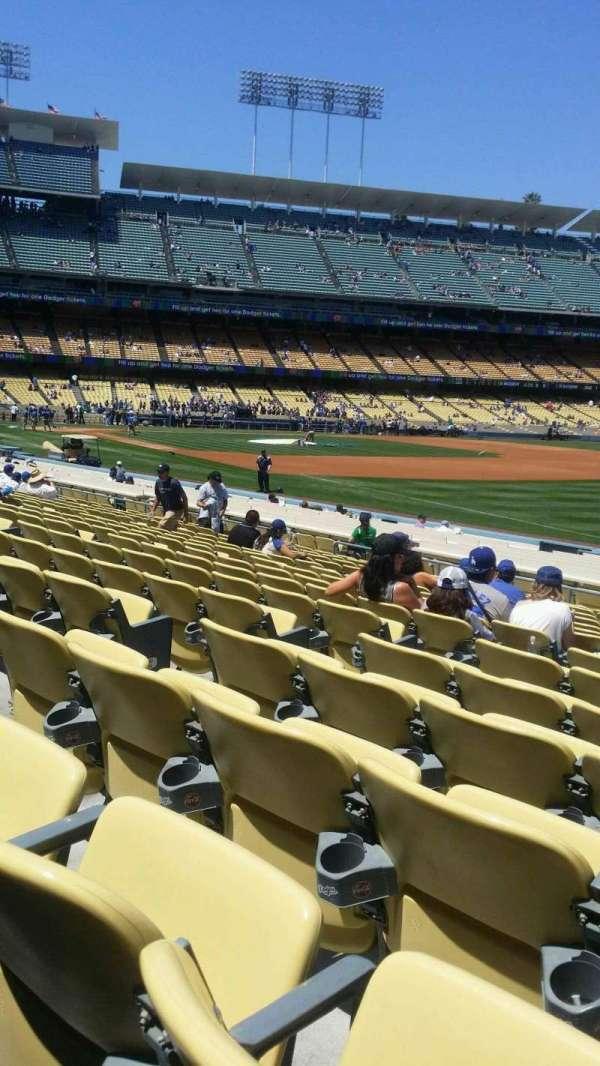 Dodger Stadium, Abschnitt: 42FD, Reihe: p, Platz: 6
