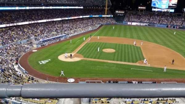 Dodger Stadium, Abschnitt: preferred reserve mvp 16, Reihe: A, Platz: 1