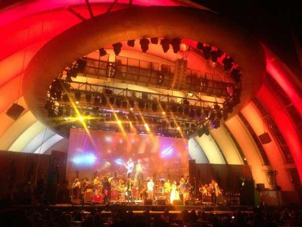 Hollywood Bowl, Abschnitt: Garden Box 254, Platz: 1