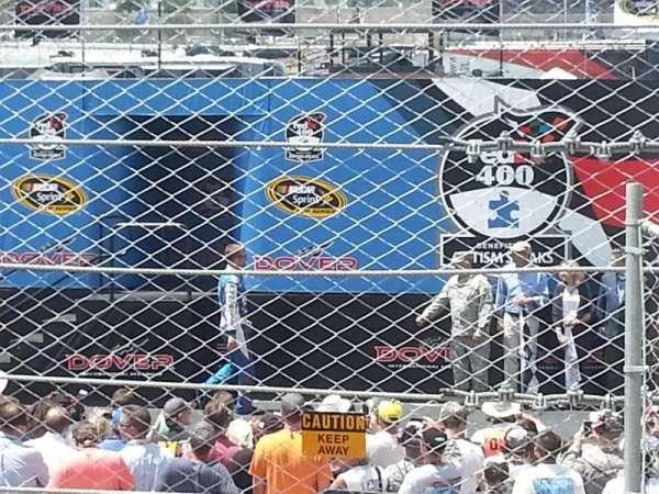 Dover International Speedway, Abschnitt: 100, Reihe: 3, Platz: 20