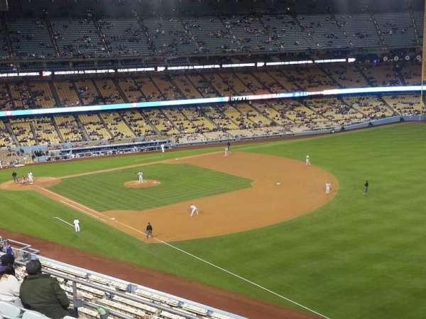 Dodger Stadium, Abschnitt: 40RS, Reihe: F, Platz: 21