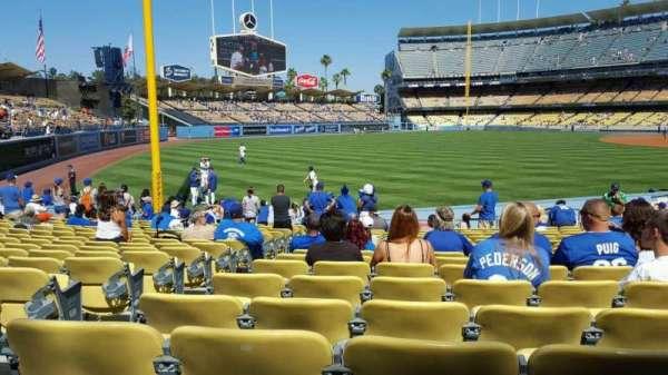 Dodger Stadium, Abschnitt: 47FD, Reihe: P, Platz: 19