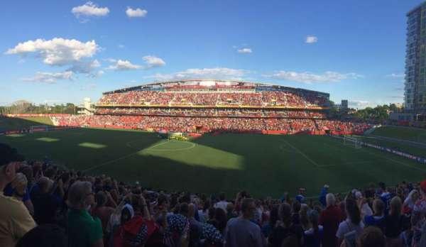 TD Place Stadium, Abschnitt: D, Reihe: 16, Platz: 9