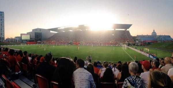 TD Place Stadium, Abschnitt: n, Reihe: 15, Platz: 20