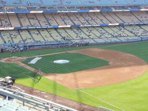 Dodger Stadium, Abschnitt: 40RS, Reihe: F, Platz: 7