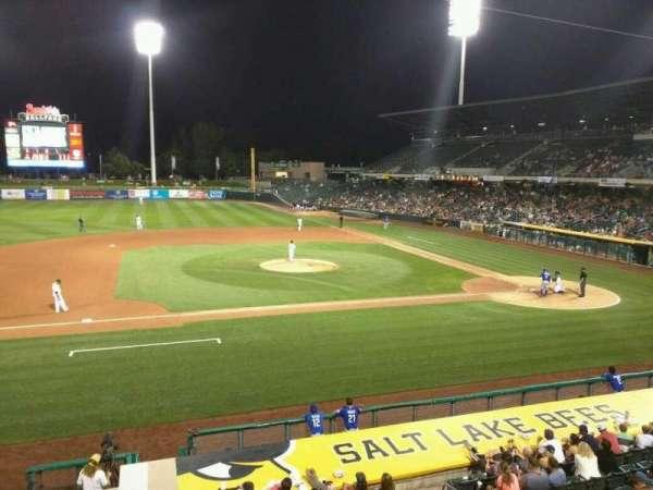 Smith's Ballpark, Abschnitt: 113, Reihe: 1, Platz: 1