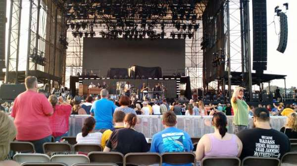 Hershey Park Stadium, Abschnitt: B, Reihe: 25, Platz: 17