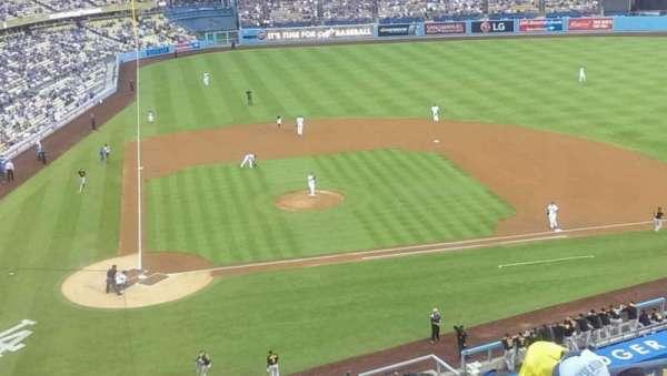 Dodger Stadium, Abschnitt: 8, Reihe: f, Platz: 13