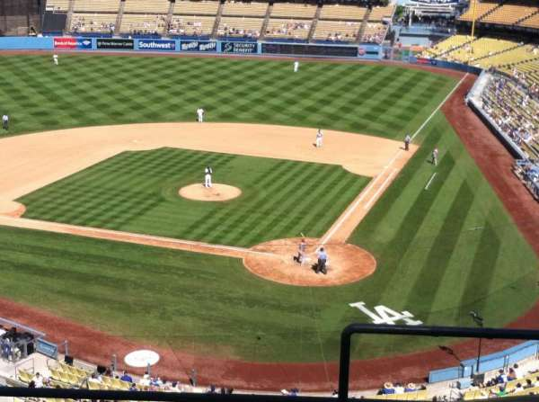 Dodger Stadium, Abschnitt: 7RS, Reihe: E, Platz: 1