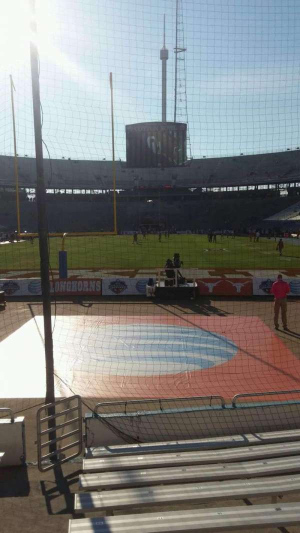 Cotton Bowl, Abschnitt: 14, Reihe: 11, Platz: 21