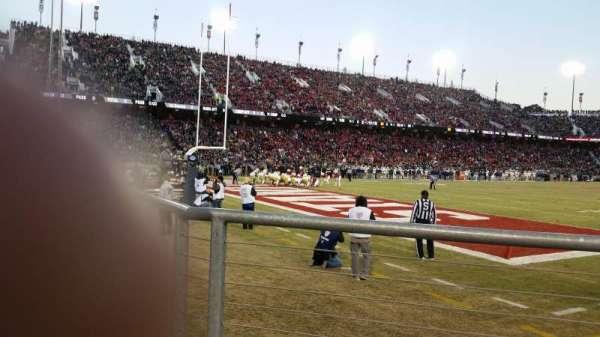 Stanford Stadium, Abschnitt: 120, Reihe: A, Platz: 3