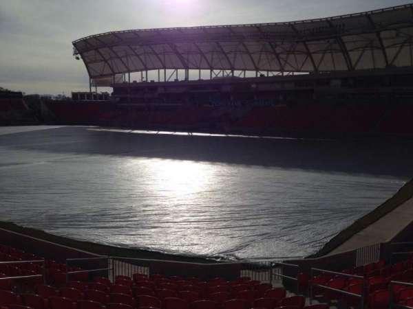 Rio Tinto Stadium, Abschnitt: 33, Reihe: p, Platz: 10