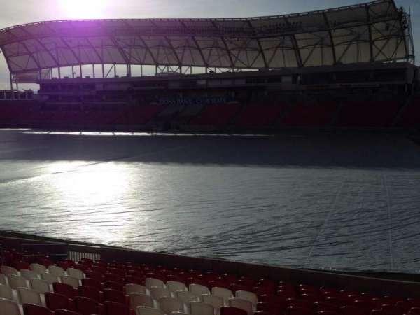Rio Tinto Stadium, Bereich: 34, Reihe: p, Platz: 15