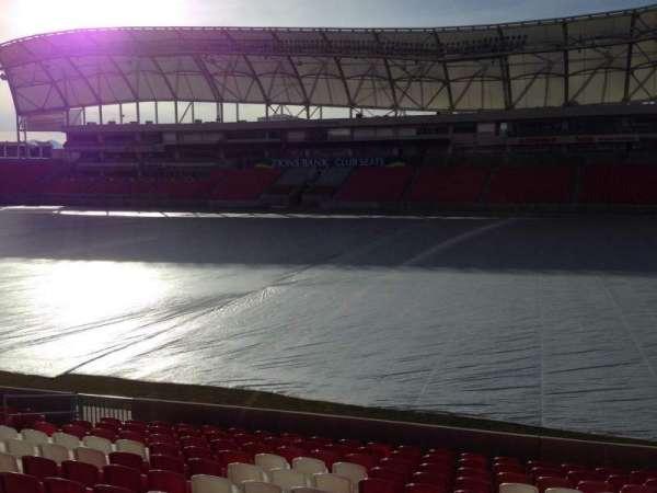 Rio Tinto Stadium, Abschnitt: 35, Reihe: p, Platz: 15