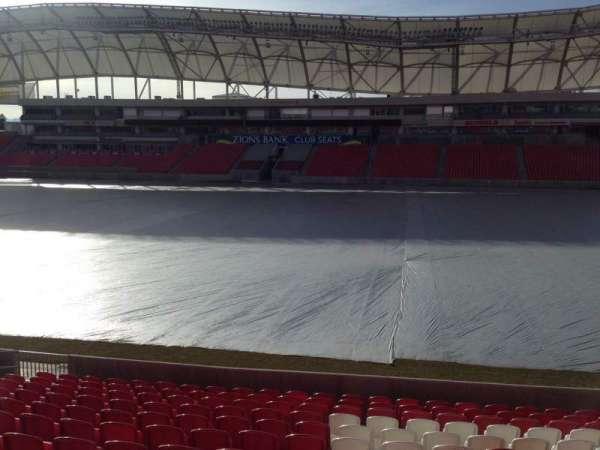 Rio Tinto Stadium, Abschnitt: 36, Reihe: p, Platz: 15