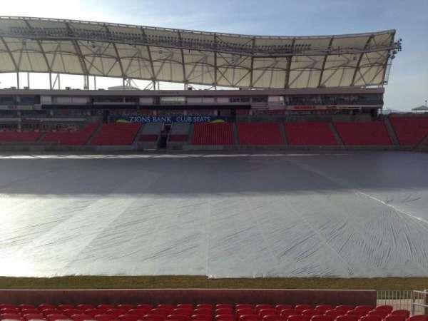 Rio Tinto Stadium, Abschnitt: 37, Reihe: p, Platz: 15