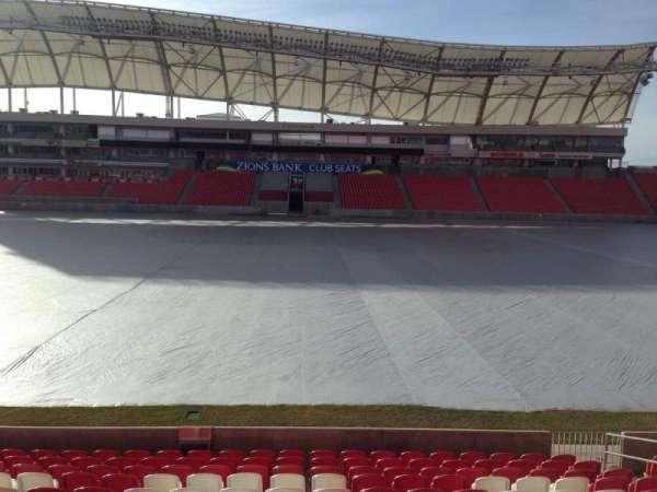 Rio Tinto Stadium, Abschnitt: 1, Reihe: p, Platz: 15