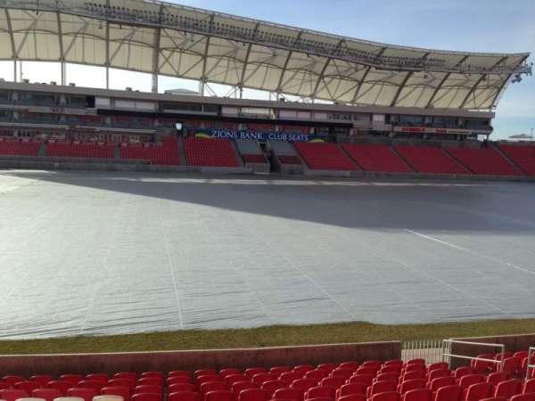 Rio Tinto Stadium, Abschnitt: 3, Reihe: p, Platz: 15