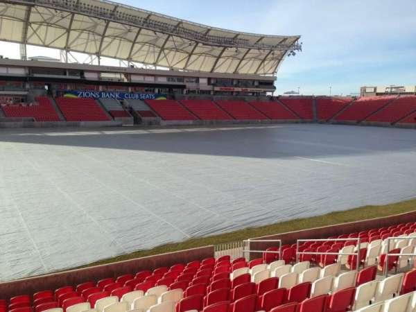 Rio Tinto Stadium, Abschnitt: 4, Reihe: p, Platz: 15