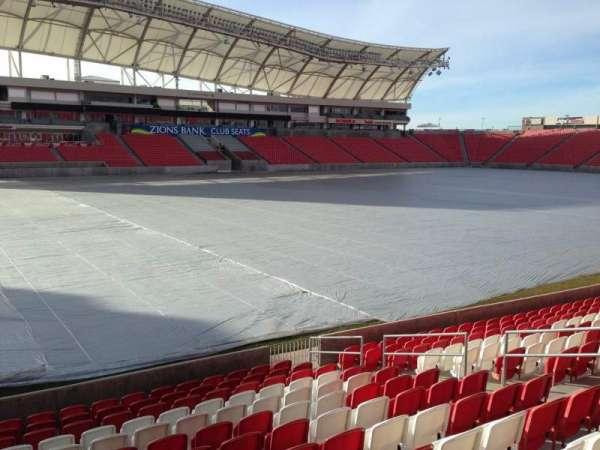 Rio Tinto Stadium, Abschnitt: 5, Reihe: p, Platz: 14