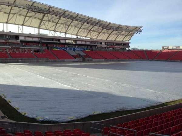 Rio Tinto Stadium, Abschnitt: 6, Reihe: p, Platz: 10