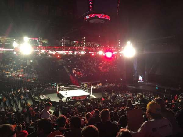 Bridgestone Arena, Abschnitt: 104, Reihe: M, Platz: 9