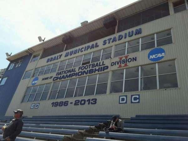 Braly Stadium, Abschnitt: ED-DC