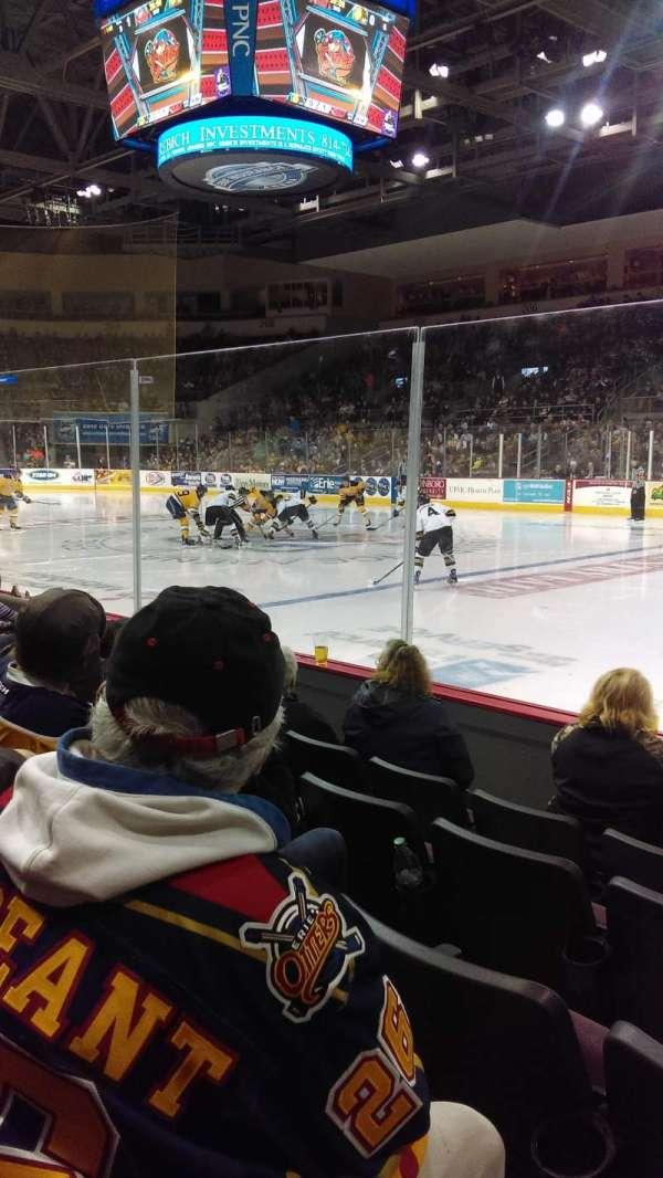 Erie Insurance Arena, Bereich: 121, Reihe: E, Platz: 5