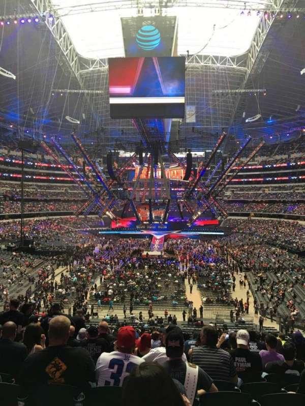 AT&T Stadium, Abschnitt: 222, Reihe: 14, Platz: 8,9,10