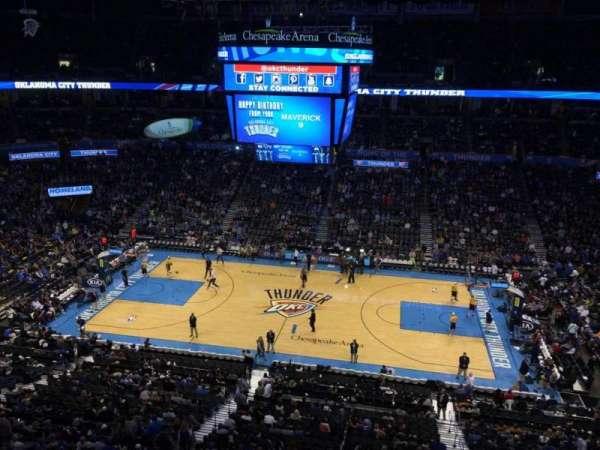 Chesapeake Energy Arena, Abschnitt: 310