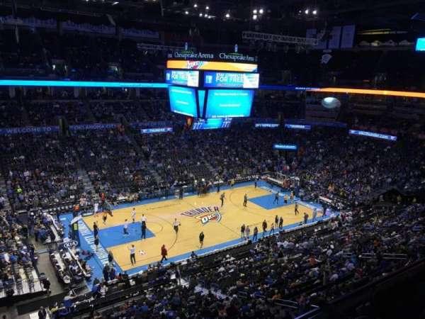 Chesapeake Energy Arena, Abschnitt: 311