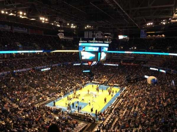 Chesapeake Energy Arena, Abschnitt: 314