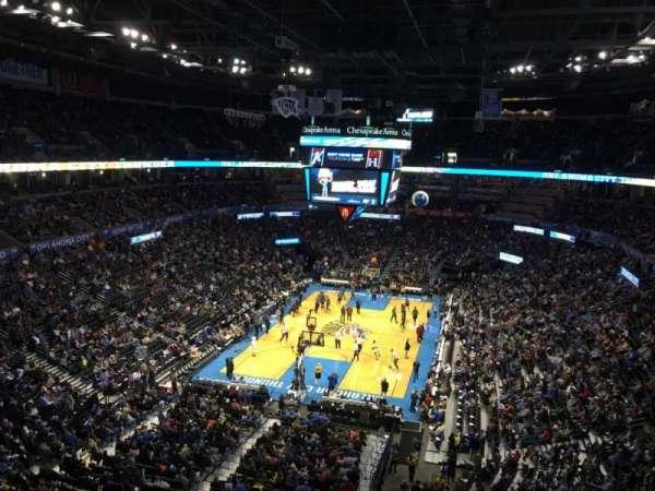 Chesapeake Energy Arena, Abschnitt: 315