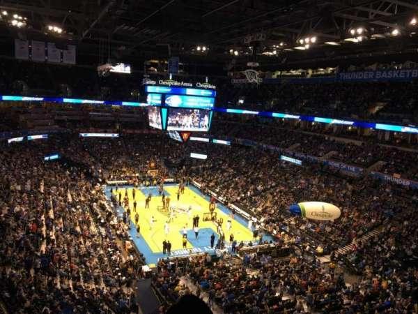 Chesapeake Energy Arena, Abschnitt: 318