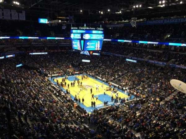 Chesapeake Energy Arena, Abschnitt: 319