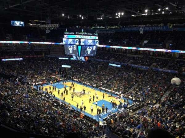Chesapeake Energy Arena, Abschnitt: 320