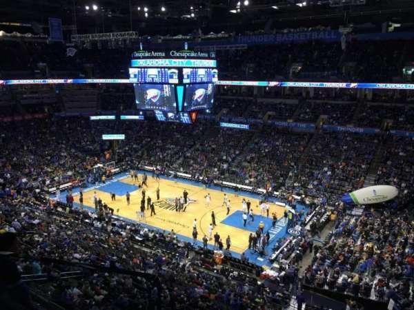 Chesapeake Energy Arena, Abschnitt: 321