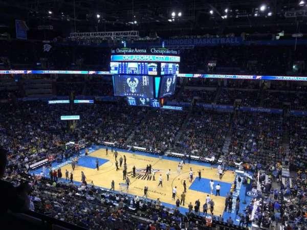 Chesapeake Energy Arena, Abschnitt: 322