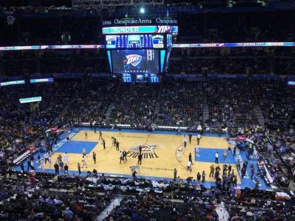Chesapeake Energy Arena, Abschnitt: 323