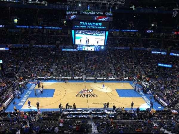 Chesapeake Energy Arena, Abschnitt: 324