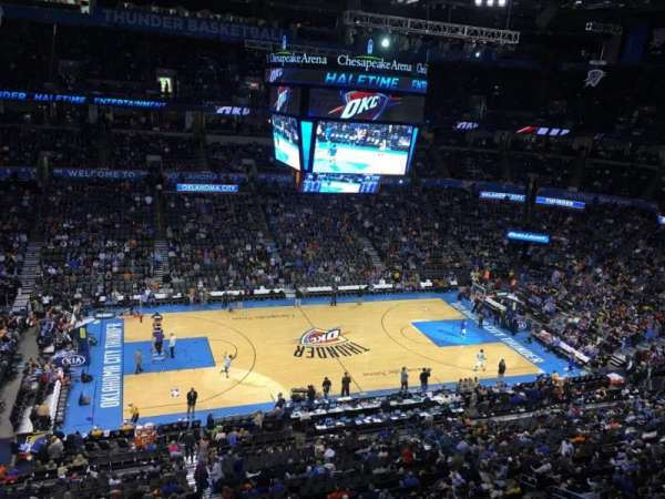 Chesapeake Energy Arena, Abschnitt: 325