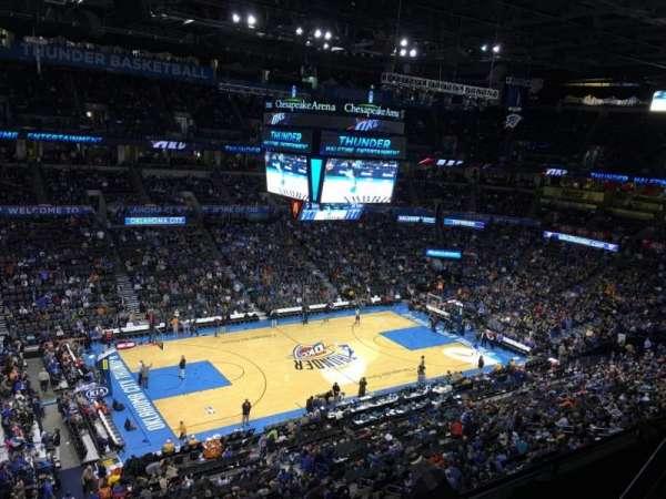 Chesapeake Energy Arena, Abschnitt: 326