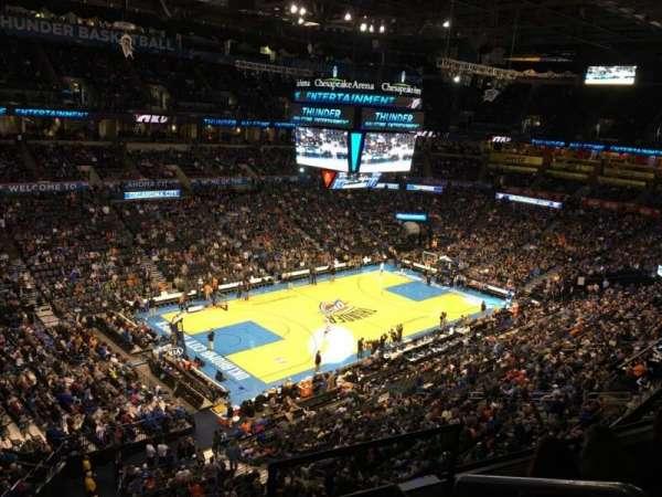 Chesapeake Energy Arena, Abschnitt: 327